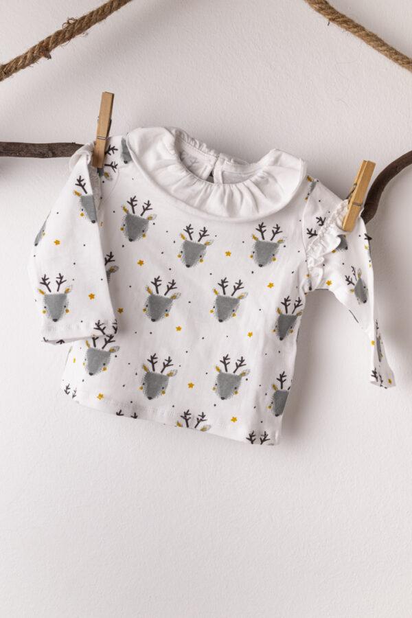 camiseta ciervo bebe