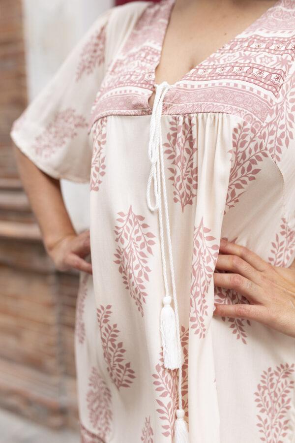 vestidos perforado verano