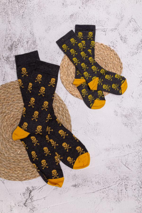calcetines calaveras